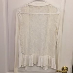 Medium, frenchi (from nordstrom), lace sweater